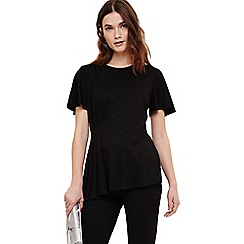 Phase Eight - Black paris pleat top