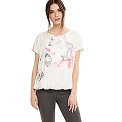 Phase Eight - Light pink kirsten floral print top