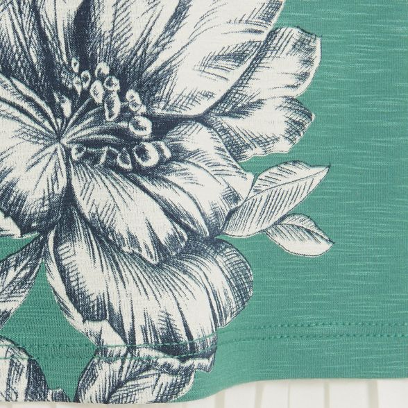 print floral Phase top Eight marietta Green w8fYvIq