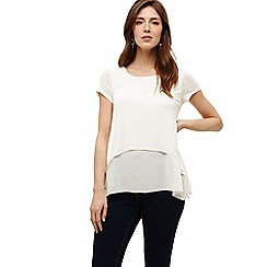 Phase Eight - Ivory cap sleeve ciera top
