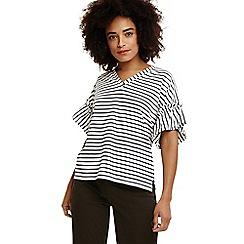 Phase Eight - White sofie stripe top
