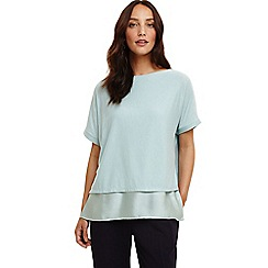 Phase Eight - Green gina double layer top