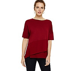 Phase Eight - Red afra asymmetric top