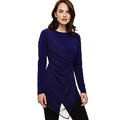 Phase Eight - Purple valo tunic top