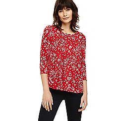 Phase Eight - Red suzan spot swing top