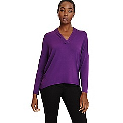 Phase Eight - Purple verity v-neck top