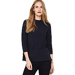Phase Eight - Navy Janet jacquard top