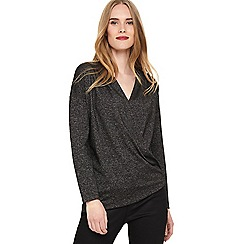 Phase Eight - Grey  Westley wrap top