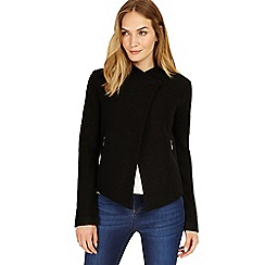 Phase Eight - Black Rosanna zip jacket
