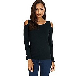 Phase Eight - Carly cold shoulder knitted jumper
