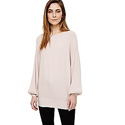 Phase Eight - Pink bettine balloon sleeve knit top
