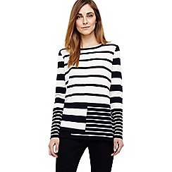 Phase Eight - Felicity mix stripe knit top