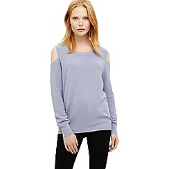 Phase Eight - Cortney cold shoulder knit jumper
