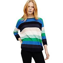 Phase Eight - Multicoloured megan bold stripe knit jumper