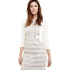Phase Eight - Cream salma knit jacket
