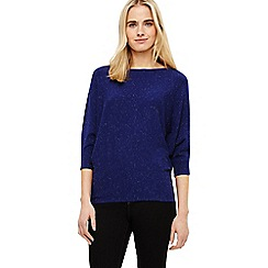 Phase Eight - Cobalt becca sparkle batwing jumper