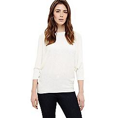 Phase Eight - Ivory becca batwing knitted jumper