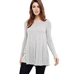 Phase Eight - Light Grey cali swing knitted top