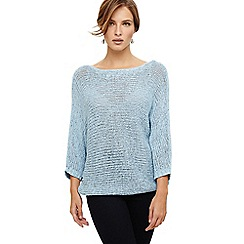Phase Eight - Blue Nelly batwing jumper