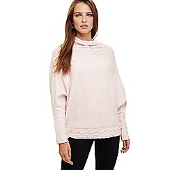 Phase Eight - Pink corine cable knit jumper