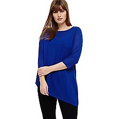 Studio 8 - Sizes 12-26 Blue clancy knit top