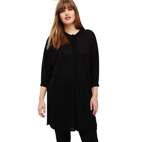 knit Sizes Studio 8 cassandra top Black 26 18 TwqAp