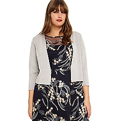 Studio 8 - Sizes 16-26 Silver carrie shimmer cover up