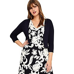 Studio 8 - Sizes 14-26 Navy carrie cover up