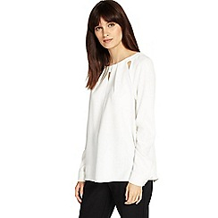 Phase Eight - Cutwork marilyn blouse