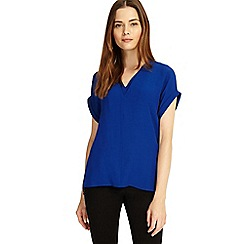 Phase Eight - Cobalt Vivian v neck blouse