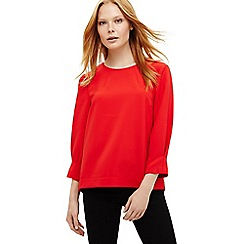 Phase Eight - Red carmelia blouse