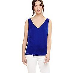 Phase Eight - Blue makayla silk cami blouse