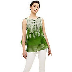 Phase Eight - Green martyna silk blouse
