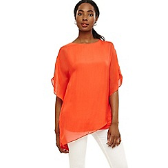 Phase Eight - Orange harper silk blouse