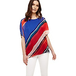Phase Eight - Multicoloured harper silk stripe blouse