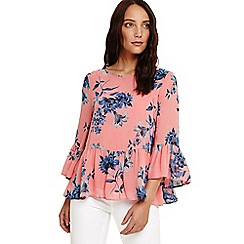 Phase Eight - Pink 'Felita' floral blouse