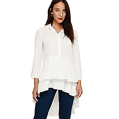Phase Eight - White demelza double layer blouse