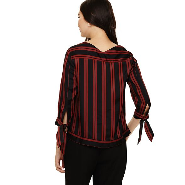 Phase Eight stripe Black iris blouse zZ4rdZwqx