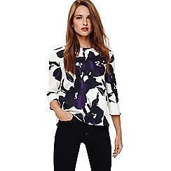 Phase Eight - Purple matilda floral blouse