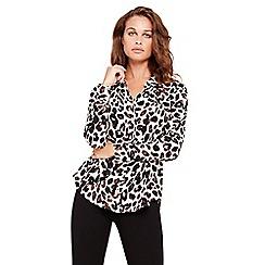 Damsel in a dress - Urban leopard blouse