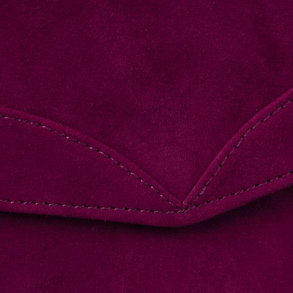 Garnet caitlin clutch Eight Phase suede SpBxF1q