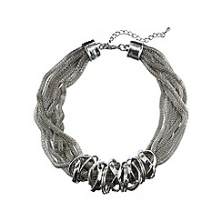 Phase Eight - Pewter melissa statement necklace