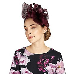 Phase Eight - Wine janey fascinator