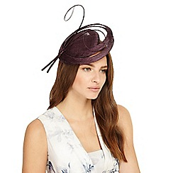 Phase Eight - Wine bella disc fascinator