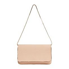 Phase Eight - Blush nina leather clutch bag