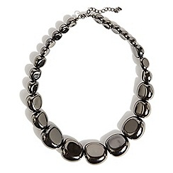 Phase Eight - Gunmetal Amy necklace