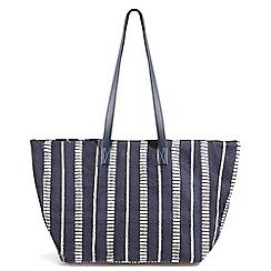 Phase Eight - Blue Sadie canvas bag