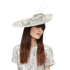 Phase Eight - Grey eden large disc bow fascinator