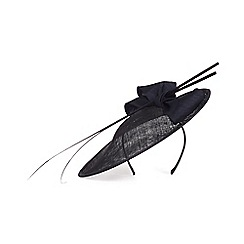 Phase Eight - Winnie oval disc bow trim fascinator