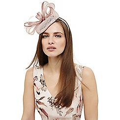Phase Eight - Pink cassie twisted bow pillbox fascinator